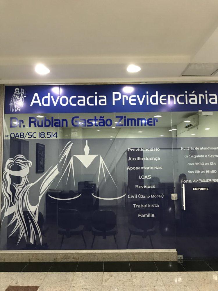 Advocacia Previdenciária – Dr. Rubian Gastão
