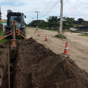 São Francisco – Obras no sistema de abastecimento beneficiam Ervino e Vila da Glória em São Francisco do Sul